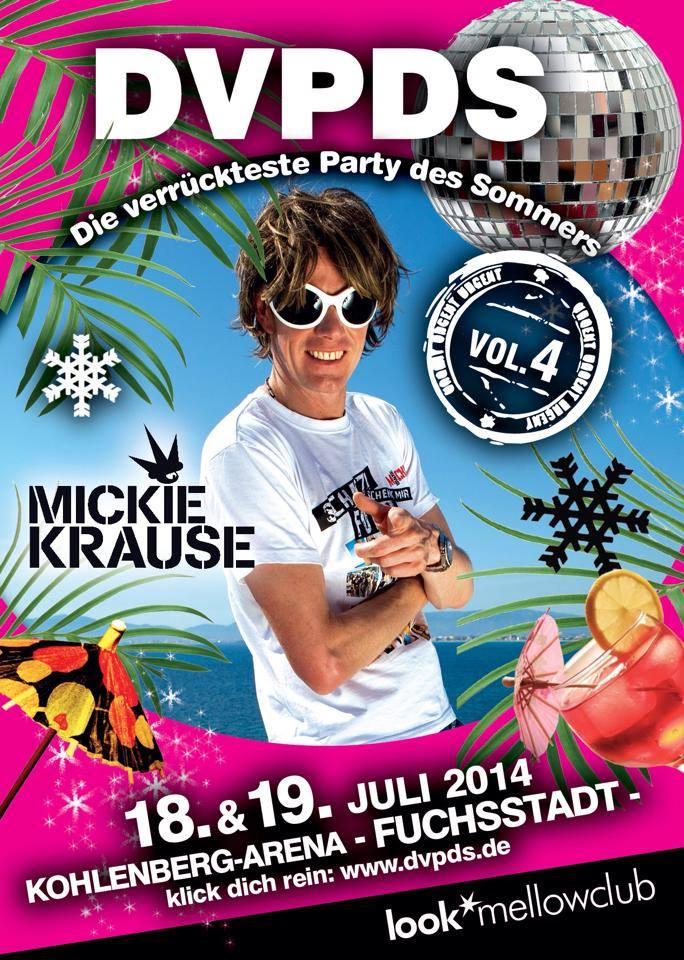 DVPDS-FLYER-2014 Die verrückteste Party des Sommers in Fuchsstadt